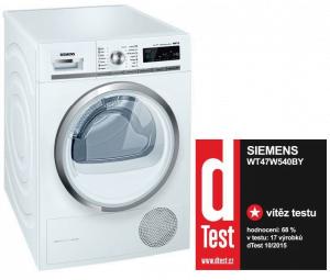 sušička prádla Siemens iQ700 WT47W540BY
