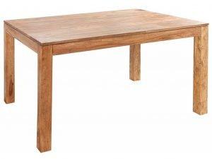 Minimalistický jídelní stůl z masivu pro 4 osoby