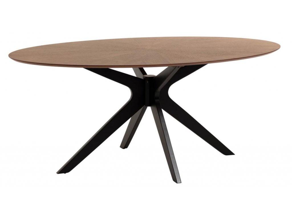 U stolů s středovou nohou někdy může noha překážet vašim nohám a definuje kde přesně budou židle