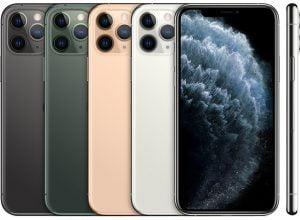 iPhone 11 Pro barvy