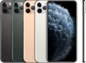 iphone pro max barvy