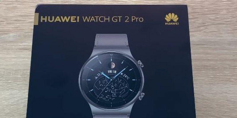 Recenze Huawei Watch GT 2 Pro