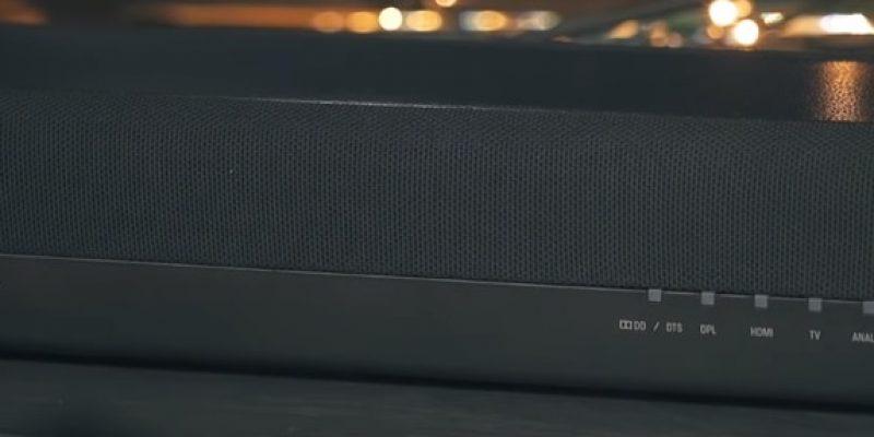 Recenze soundbaru Yamaha YAS-207